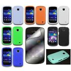 For Samsung Galaxy Proclaim Silicone Gel Rubber Skin Cover Case+Screen Protector