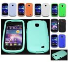Color Soft Silicone Gel Rubber Skin Case Cover For Samsung Galaxy Proclaim S720C