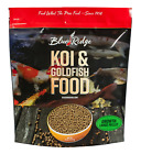 Blue Ridge Fish Hatchery Growth Formula Pellet Food for live koi & goldfish NDK