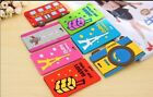 1 x Korea cartoon security mixproof portable suitcase bag tag luggage tag