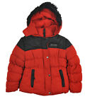 US Polo Assn Girls Red Tweed Outerwear Coat Size 4 5/6 6X $90