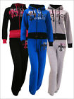 Womens Project Hoodie Tracksuit Jogging Set Hooded Zip Top & Trousers Ladies New