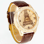 FREE SHIPPING CRYSTAL TOWER WOMEN'S GIRL HOURS DRESS QUARTZ WRIST WATCHRS, WG28