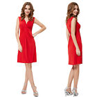 Ever Pretty Soft V-neck  Sexy Ruffles  Women Short Party Casual Dress 03324