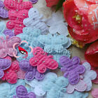 Butterfly Appliques Padded Sewing Trim Scrapbooking Craft New Color Choice