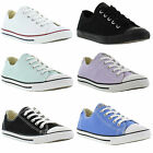 Converse Chuck Taylor Dainty Oxford Genuine Womens Canvas Shoes Sizes UK 3 - 8