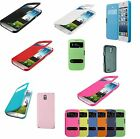 ULTRA THIN SLIM MAGNETIC FLIP WALLET S-VIEW CASE COVER FOR MOBILE PHONE