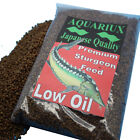 Aquariux high growth low oil sturgeon food pellets sinking fish pellets feed