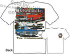 Oldsmobile T Shirt 1968 1969 1970 Olds 442 66 67 68 69 70 71 Muscle Car Apparel