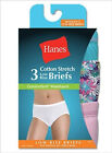 Hanes ET39AS Womens Comfortsoft Waisband Low Rise Briefs - Pack of 3