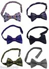 Quirky Patterned Bow Ties British Made