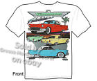 1955 1956 1957 Thunderbird T Shirts 55 56 57 Ford Shirts Classic Car Automotive