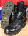 Genuine British Army Extreme Cold Black Leather Goretex Combat Boots Vibram Sole
