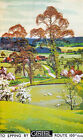 TX144 Vintage To Epping By General Bus Essex Travel Poster Re-Print A2/A3/A4