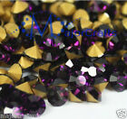 Amethyst Purple Round Point Back Glass Chaton Rhinestones, Crafts Crystal Beads