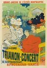 AP04 Vintage 1895 Trianon Concert  Elysee-Montmartre French Poster A1/A2/A3/A4