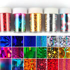 New Galaxy Nail Art Tips Decal Transfer Foil Paper Tip Foil Sticker Decoration