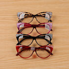 Cool Cute Fashion Women Lady Girls Cat-eye Shape Spectacle Plain Glasses Plastic