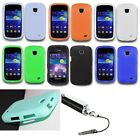 For Samsung Galaxy Proclaim Soft Silicone Skin Slim Phone Case Cover+Stylus Pen