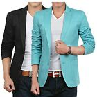 Mens Casual TOP Design Sexy Slim FIT Blazers Coats Suit Jackets 5Color 7size