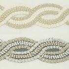 Unique Metallic Embroidered Venise Lace Trim #286 - Bridal Wedding Lace Trim