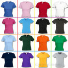 (F288) FRUIT OF THE LOOM DAMEN T-SHIRT-New Lady Valueweight Kurzarm-XS S M L XL