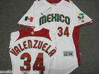 MEXICO FERNANDO VALENZUELA WORLD BASEBALL CLASSIC AUTHENTIC HOME JERSEY NEW