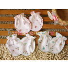 2/6PCS Baby Boy Girls Infant Kids Anti-Scratch Cotton Handguard Gloves Mittens