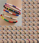 Colourful FRIENDSHIP BRACELET wristband mens boys ladies girls jewellery jewelry