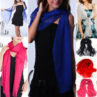 Soft Chiffon Formal Cocktail Wrap SCARF/SHAWL Beach Cover AU SELLER sc027