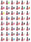 48 Colors Varnish Bling Nail Art UV Gel Soak Off Polish for Tips - 12ml