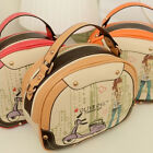 Women Handbag Cartoon Totes Satchel Shoulder Messenger Cross Body Bag With Strap