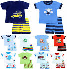 63 Styles Short sleeve Pajamas +pants Baby&Toddler Kid's Size 2-7 years : Boys