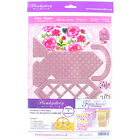 Hunkydory Floral Fantasia Card Kit- Choice of 2 Styles (One Supplied)