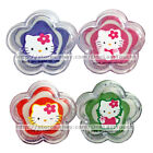 HELLO KITTY Flower SWIRL LIP GLOSS POTS Purple+Pink+Orange+Green *YOU CHOOSE*