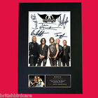 AEROSMITH Quality Autograph Mounted Photo Reproduction Print A4 21x30cm