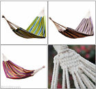 Outsunny Camping Hammock Portable Hanging Sleep Garden Travel Bed 4 Options