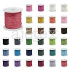 80m/Roll Waxed Cotton Cord Wire Beading Macrame String Jewelry DIY 0.5/1/1.5mm