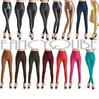 Sexy Womens Skinny Faux Leather High Waist Trousers Tights Leggings Pants B0013