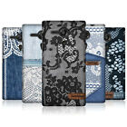 HEAD CASE JEANS AND LACE SNAP-ON BACK COVER FOR SONY XPERIA SP C5303