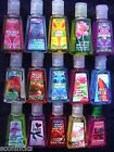 Bath & Body Works HAND GEL POCKETBAC AntiBacterial Sanitizer 29ml You Pick....