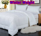 Winter Weight WASHABLE Quilt Doona 400GSM - SINGLE DOUBLE QUEEN KING SUPER KING