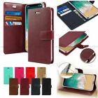 Canvas Diary Flip Leather Wallet Case Cove For iPhone 5 5S 6 6S SE 7 7 Plus Lot