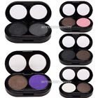 New 2 Colors Makeup Eye Shadow Palette Shimmer Smoky Smokey Warm Nude Eyeshadow