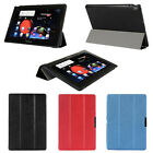 """Tri-folds PU Leather Smart Case Stand Cover For Lenovo A10-70 10.1"""" A7600 NEW"""