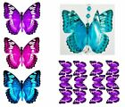 8x PRE-CUT 3D BUTTERFLY WING #16 for crystal suncatcher craft scrapbooking deco