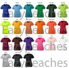 PEACHES PICK Ladies V-NECK Tee Dance Running Cross Sport dri-fit T-SHIRTS S-2XL