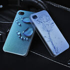 New Visual 3D Vivid Pattern Hard Back Case Cover Skin for Apple iPhone 4 4S 5 5S