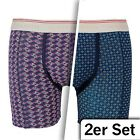 Scotch & Soda Boxer Shorts Design F 2 Pack With Print New Collection