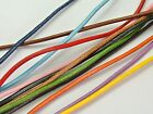 32.8 Feets Round Real Genuine Leather Jewelry Cord 2mm Pick Your Color